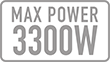Max Power (w): 3300