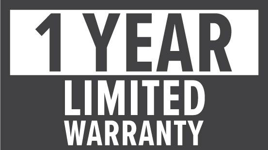 Warranty: 1 Year Limited