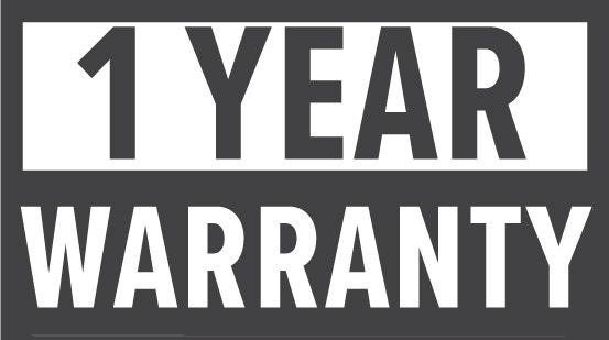 Warranty: 1 Year