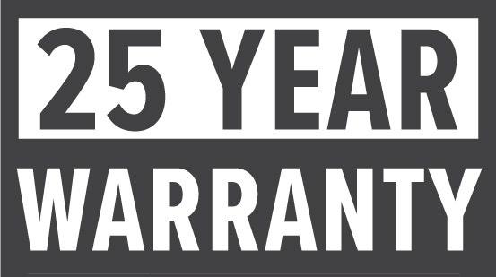 Warranty: 25 Year
