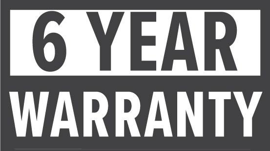 Warranty: 6 Year