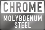 Material: Chrome Molybdenum Steel