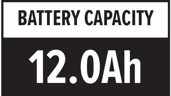 Battery Capacity: 12.0Ah