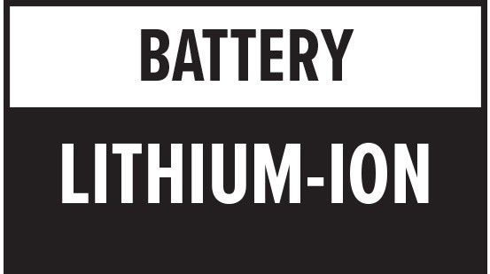 Battery Type: Lithium-Ion