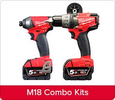 Milwaukee Tools Sets Cordless Corded Total Tools