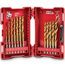 Milwaukee HSS High Speed Steel Drill Bit Sets