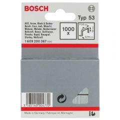 BOSCH 12mm Staples  - 1000 Pieces BOX Suits PTK14&23E 1609200367