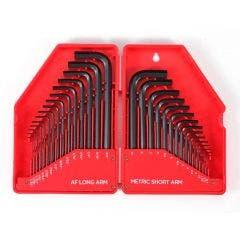 TTI 30 Piece Metric/AF Hex Key Set