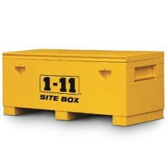 1-11 1830x610mm Yellow Fully Welded Site Box SITE72