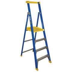 BAILEY 1.5m Fiberglass Platform Step Ladder