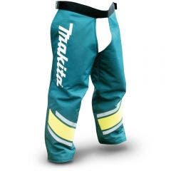 MAKITA Pro-Series Zip-Up Safety Chaps - Size S