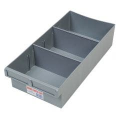 FISCHER 200 x 100 x 400mm 2 Divider Large Storage Tray 1H004