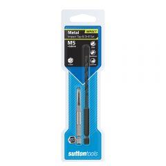 SUTTON M5 1/4inch Hex Impact Tap & Drill Set  M1050500