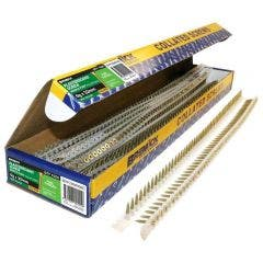 BREMICK 6g x 32mm Zinc Yellow Fine Collated Screws - 1000 Pack SDYCZ06030C