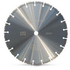 HUSQVARNA 510 x 25.4mm 420 White Segmented Blade Diamond for Concrete Cutting