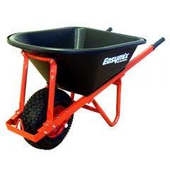 EASYMIX Wheelbarrow Poly Tray Wide Wheel Heavy Duty Wa W566P