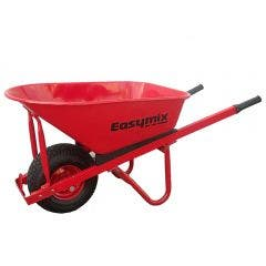 EASYMIX Wheelbarrow Steel Wide Wheel Heavy Duty Wa W566S