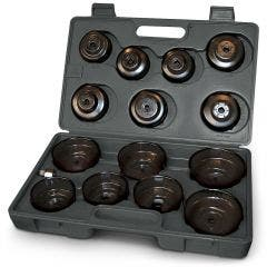 TOLEDO Oil Filter Cup Wrench Set - 15 Pc