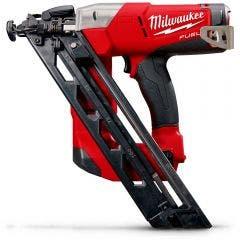 MILWAUKEE 18V Fuel 32-63mm DA Series Angled Finisher Nailer Skin M18CN15GA0C