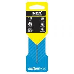 SUTTON 1.5 x 40mm HSS-TiAIN Jobber Drill Bit for Stainless - INOX