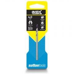 SUTTON 4.0 x 75mm HSS-TiAIN Jobber Drill Bit for Stainless - INOX