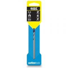 SUTTON 5.5 x 93mm HSS-TiAIN Jobber Drill Bit for Stainless - INOX