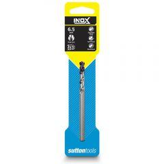 SUTTON 6.5 x 101mm HSS-TiAIN Jobber Drill Bit for Stainless - INOX