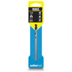 SUTTON 7.0 x 109mm HSS-TiAIN Jobber Drill Bit for Stainless - INOX