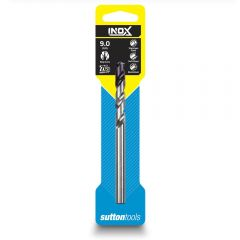 SUTTON 9.0 x 125mm HSS-TiAIN Jobber Drill Bit for Stainless - INOX