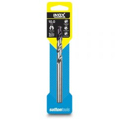SUTTON 10.0 x 133mm HSS-TiAIN Jobber Drill Bit for Stainless - INOX