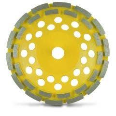 FLEXOVIT 180mm Diamond Grinding Cup Double Row