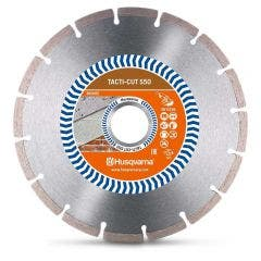 HUSQVARNA 180mm Segmented Diamond Blade for GENERAL Purpose Cutting - TACTI-CUT S50