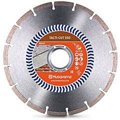 HUSQVARNA 230mm Segmented Diamond Blade for GENERAL Purpose Cutting - TACTI-CUT S50