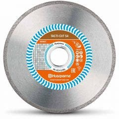 HUSQVARNA 105mm Continuous Rim Diamond Blade for Ceramic Cutting - TACTI-CUT S4