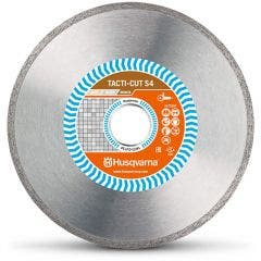 HUSQVARNA 230mm Continuous Rim Diamond Blade for Ceramic Cutting - TACTI-CUT S4