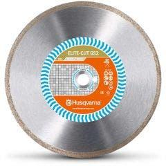HUSQVARNA 180mm Continuous Rim Diamond Blade for Ceramic Cutting - ELITE-CUT GS2