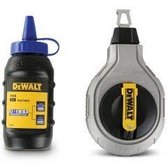 DEWALT 30m 6:1 Chalk Reel with 113g Blue Chalk DWHT47425-9