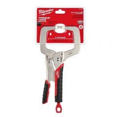 MILWAUKEE 279mm Soft Grip C-Clamp Locking Plier Regular Tip 48223631