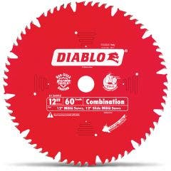 DIABLO 305mm 60T TCT Circular Saw Blade for Wood Cutting - COMBINATION