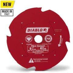 DIABLO 165mm 4T PCD Circular Saw Blade For Fibre Cement Cutting 2608644457