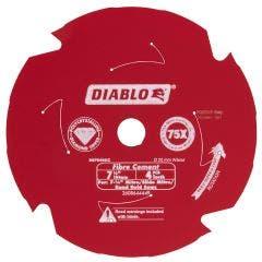 DIABLO 184mm 4T PCD Circular Saw Blade For Fibre Cement Cutting 2608644449