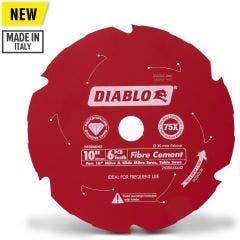 DIABLO 254mm 6T PCD Circular Saw Blade For Fibre Cement Cutting 2608644442