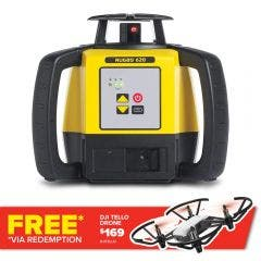 LEICA Rotating Laser Level Red Beam Manual-Single-Grade RUGBY 620 LG6005985