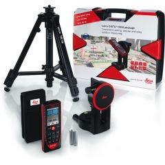 LEICA 200m Laser Distance Measurer w.Camera & Bluetooth DISTO D510 Package