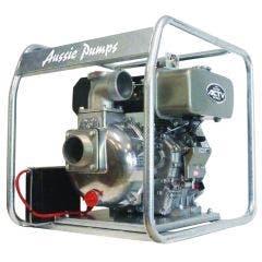 AUSSIE PUMPS DIESEL 3inch WATER TRANSFER 6HP 30M HEAD 63000L/HR KUBOTA