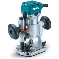 MAKITA 710W 6.35mm Router with Plunge Routing Base RT0700CX2