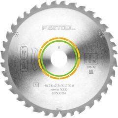 FESTOOL 216mm 36T TCT Circular Saw Blade for Wood Cutting