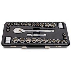 GEARWRENCH 31 Piece 1/2inch Drive 120XP Standard 12 Point Socket Set 83065