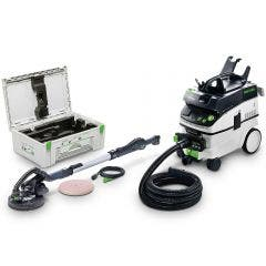 FESTOOL 215mm 400W CT36 LHS 225 EQ PLANEX Long Reach Sander Set 574875