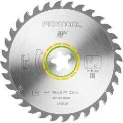 FESTOOL 190mm 32T TCT Circular Saw Blade for Wood Cutting - FAST FIX